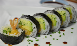 sushi shrimp tempura roll